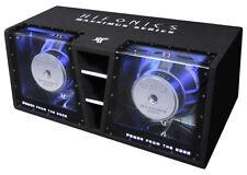 "Hifonics Doppel Bandpass Auto Subwoofer MXZ 12DUAL 30 cm /12"" 4000 Watt max. LED"