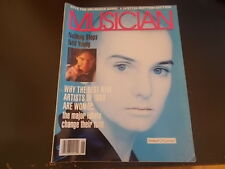 Sinead O'Connor, Neil Young - Musician Magazine 1988