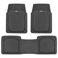 Acdelco Deep Dish TriFlex Rubber Floor Mats - Performance Plus Heavy Duty Liners