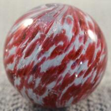 """RARE LARGE EARLY GERMAN END OF DAY ONIONSKIN MARBLE w/ MICA > 2"""" (2.028"""")"""