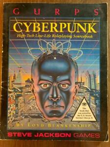 Steve Jackson Games GURPS Cyperpunk by Lloyd Blankenship RPG