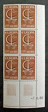 EUROPA Timbre ANDORRE / ANDORRA Stamp - Yvert et Tellier n°178x6 n** (Y3)