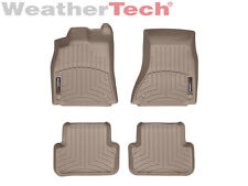 WeatherTech Floor Mats FloorLiner for Audi A4/Allroad/S4 - 1st & 2nd Row - Tan