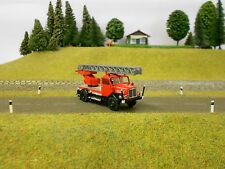 Brekina 71725 Feuerwehr IFA S4000 DL25 Drehleiter filigran Modell HO