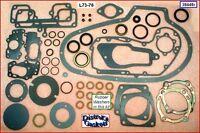 Motor Rebuild Gasket Kit Late73-76 Ironhead Sportster rubber washers (17026-73L)