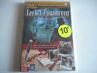 JEU MAC/ PC CD-ROM - JACK L'EVENTREUR / LETTRES DE L'ENFER  - NEUF