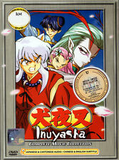Inuyasha Complete DVD Movies Collection - Japanese / Cantonese - US Seller FAST
