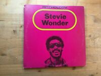 Stevie Wonder Anthology Very Good 3 x Vinyl Record M9 804A3 & Booklet