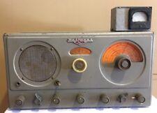 National Model NC-57 Vintage Shortwave Ham Radio Tube Receiver