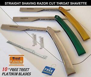Professional Barber hair Salon Straight Cut Throat Shaving Razor safety Razors