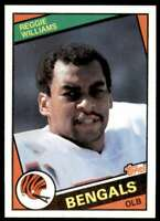 1984 Topps Set Break Reggie Williams Cincinnati Bengals #46