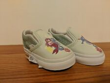 7fe9da155d99c6 VANS New Classic Slip-On Mermaid Vault Toddler Size USA 5