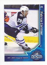 2011-12 St. John's IceCaps  (AHL) Patrice Cormier (Barys Astana)