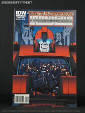 Transformers Ironhide #4 IDW Comics 2010 Alpha Trion Cover B