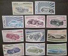 MONACO STAMPS MNH - Development of the Automobile, 1975, **