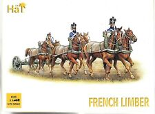 HAT FRENCH HORSE LIMBER TEAM  (3X) in 1/72 8105  ST