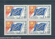 FRANCE SERVICE - 1963-71 YT 31 bloc de 4 - TIMBRES NEUFS** LUXE - 001