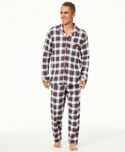 Matching Family PJs Mens Stewart Plaid Christmas Pajama Set 1XB Big & Tall #6049