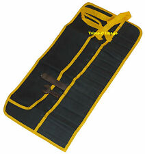 16 pocket canvas tool roll for your classic car