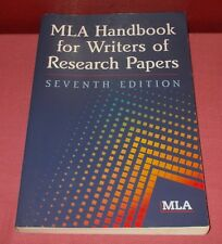 2009 MLA HANDBOOK FOR WRITERS OF RESEARCH PAPERS Seventh Edition Paperback *