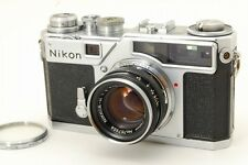 【B V.Good】 Nikon SP 35mm Rangefinder Film Camera w/NIKKOR-H 5cm 50mm f/2 #2589