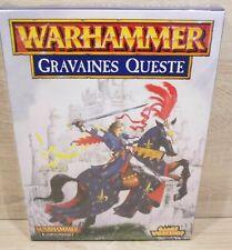 """Rarität Games Workshop Warhammer Kampagnen-Set """"Gravaines Queste"""" aufgebaut OVP"""