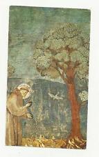 95561 SANTINO HOLY CARD Heiligenbildchen  BENEDIZIONE DI SAN FRANCESCO