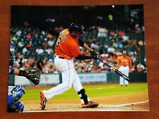 Gregorio Petit Autographed 8x10 Photo Houston Astros