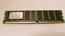 Samsung PC-3200 512 MB DIMM 400 MHz DDR SDRAM Memory (M312L6420EG0-CCC)