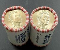2008 D James Monroe Dollar Presidential $25 Coin BU Unc String & Son Roll