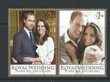 NEW ZEALAND 2011 ROYAL WEDDING PRINCE WILLIAM FINE USED