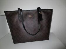 COACH Tasche City ZIP TOTE Shopper Taschen Bag Schultertasche Brown / Black neu