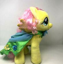 Build a Bear My Little Pony Fluttershy Yellow Pegasus Flower Cloak Cape
