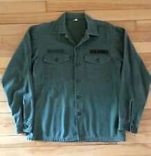 Vintage US Army 1960s OG 107 shirt
