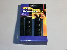 Old School Powerlite Pipe Dream Axle Pegs Black Fits 3/8in Axles