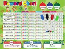 Magnetic Behavior / Star / Reward Chore Chart, One Or Multiple Kids, Toddlers, T