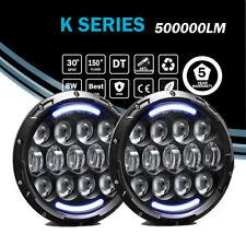 LED Headlights 78W H4 Light Bulbs Halo Angel Eye Hi/Lo for 90-97 Mazda Miata MX5