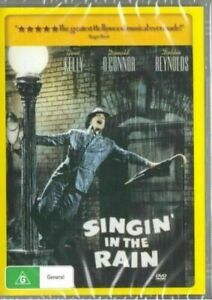 Singin' In The Rain - Gene Kelly New and Sealed DVD