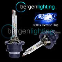2X 8000K D2R XENON HEADLIGHT BULBS ELECTRIC BLUE FOR RENAULT LAGUNA