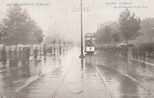 RARE VINTAGE POSTCARD RECORD RAINFALL JUNE 1903 EALING COMMON, LONDON