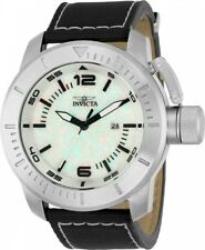 Invicta 50mm Corduba Quartz Lab-Created Opal Nylon Strap Watch NEW