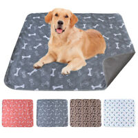 Large Dog Cat Pee Pads Pet Puppy Training Piddle/Incontinence Underpads Washable