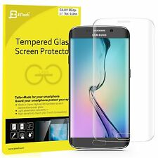 JETech 0893 Samsung Galaxy S6 Edge Screen Protector Full Cover Tempered Glass