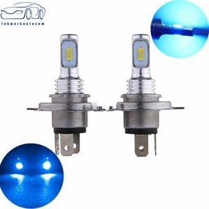 35W 4000LM 8000K Blue H4 9003 HB2 LED Headlight Bulb Kit High Low Beam Bright US