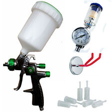 Scratch Doctor LVLP Spray Gun FULL Starter Kit . Ideal for Spray Fake Tan etc