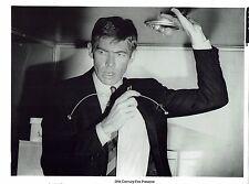 James Coburn Actor Our man Flint Vintage Publicity Photograph 10 x 8
