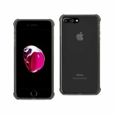 REIKO IPHONE 7 PLUS CLEAR BUMPER CASE WITH AIR CUSHION PROTECTION IN CLEAR BLACK