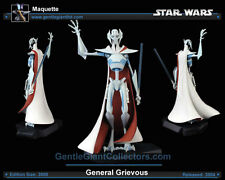Star Wars Animated General Grievous Clone Wars Statue / Maquette