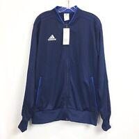 Adidas Mens Large Condivo 18 Jacket Full Zip Navy Training Track $65 NWT
