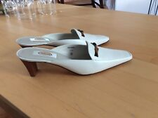 Talbots Shoes Lana 7.5 Ivory Narrow New With Box